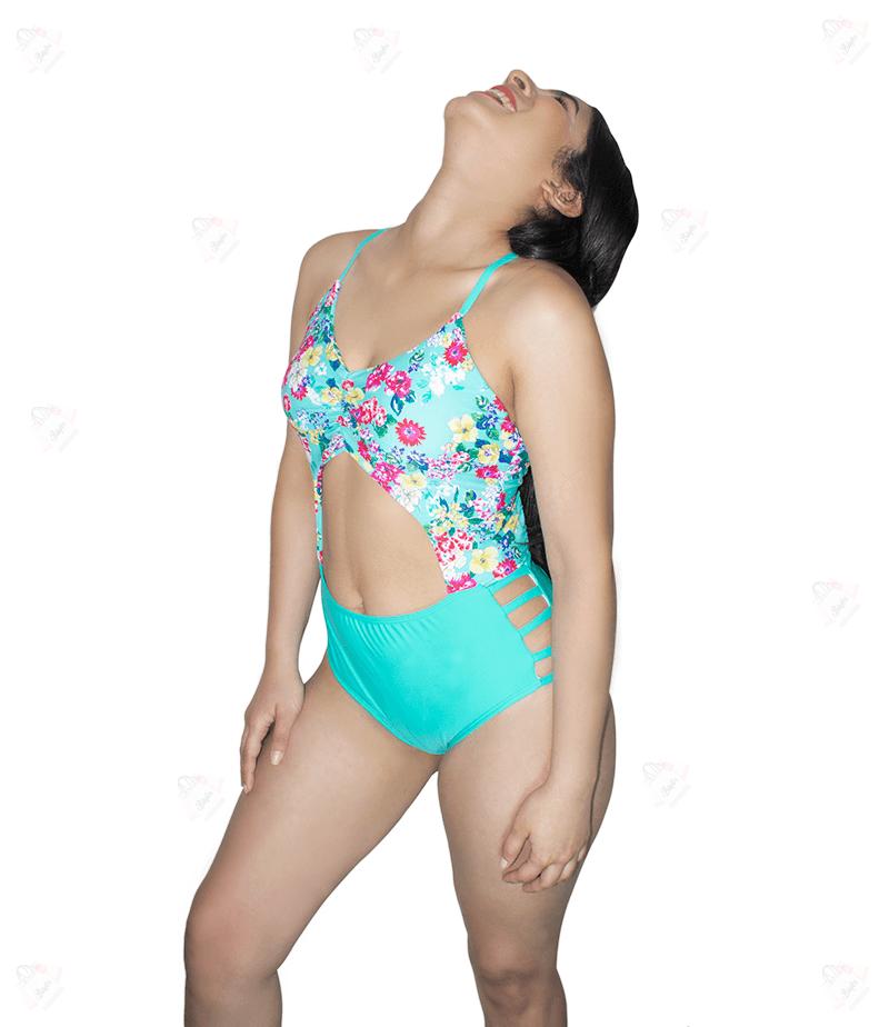 Bikini Enterizo Flores